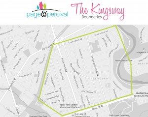 the kingsway map